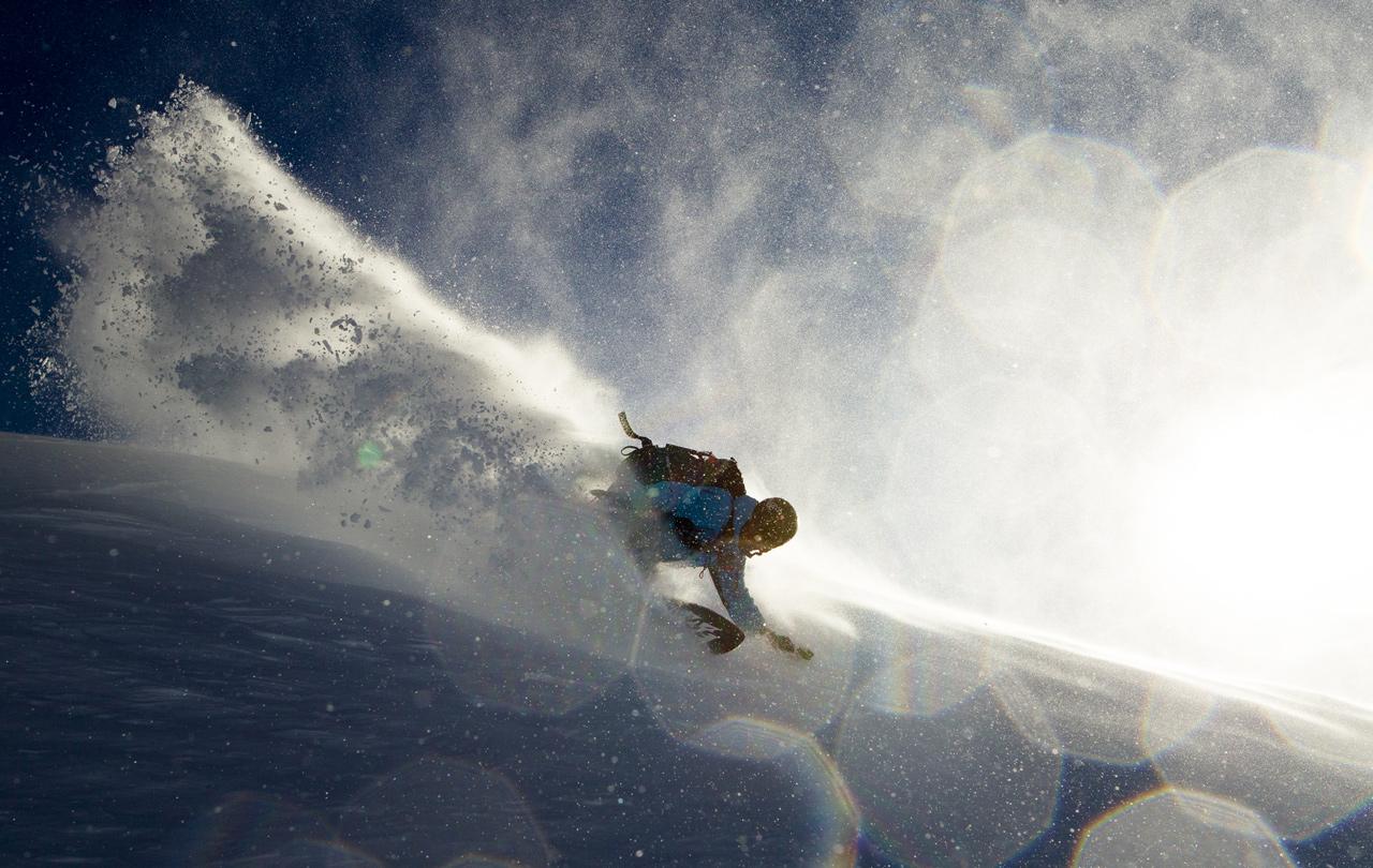 Stormchaser - einen passenderen Namen hätte sich Jeremy für dieses Board nicht aussuchen können | © O'Neill/Andrew Miller