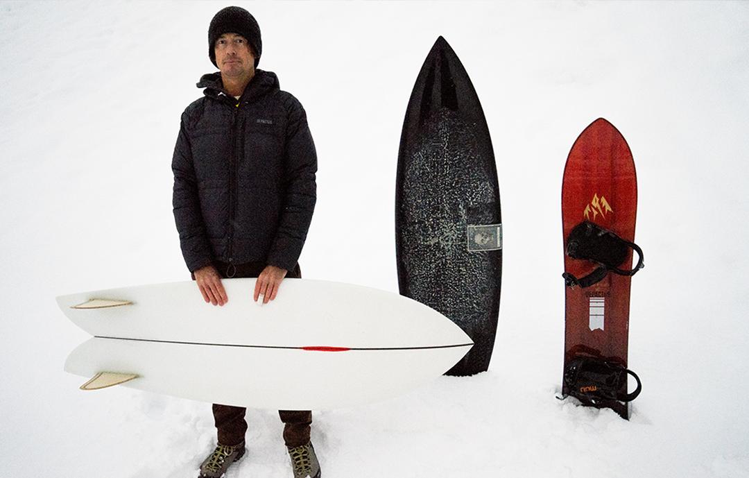 Chris Christenson ist maßgeblich am Design des Storm Chasers beteiligt | © Jones Snowboards