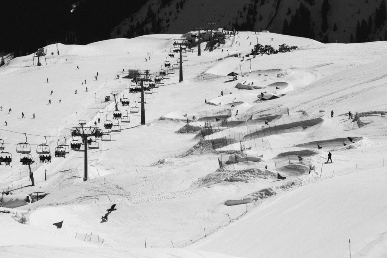 Ein feuchter Traum für jeden Banked-Shredder | © Montafon Banked Slalom