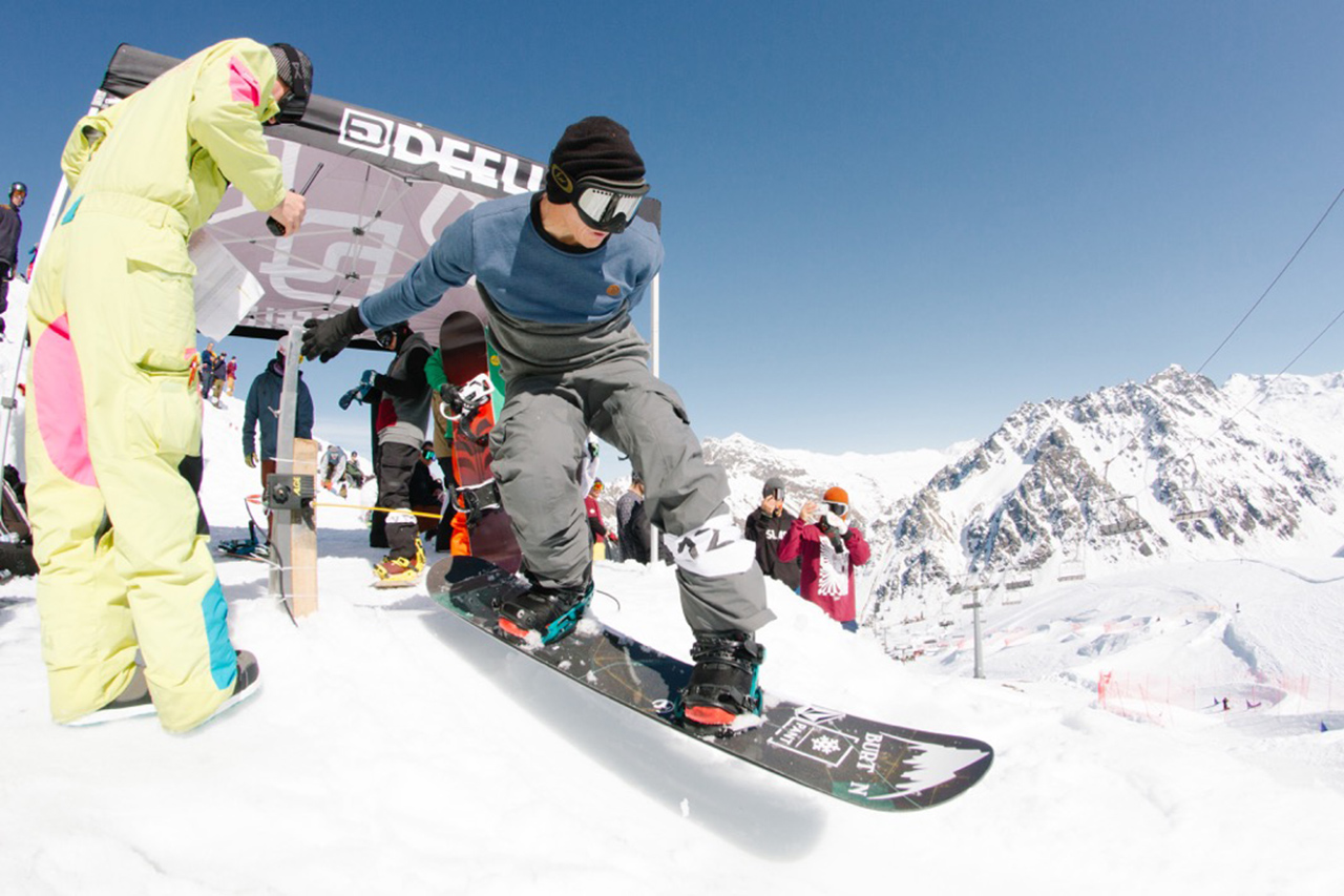 Wenn Terje in den Kurs droppt, schaut jeder hin | © Montafon Banked Slalom