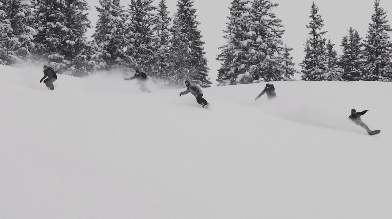 """No friends on powder days"" - was für ein dummer Spruch"