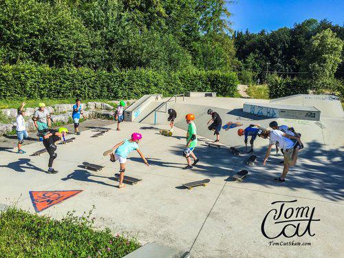 Mit Tom Cat geht's ab in den Skatepark | © http://www.tomcatskate.com