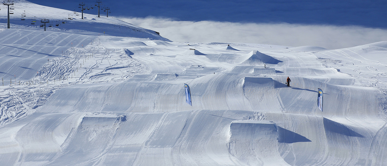 Der Beginners Snowpark im White Elements | © white-elements.ch