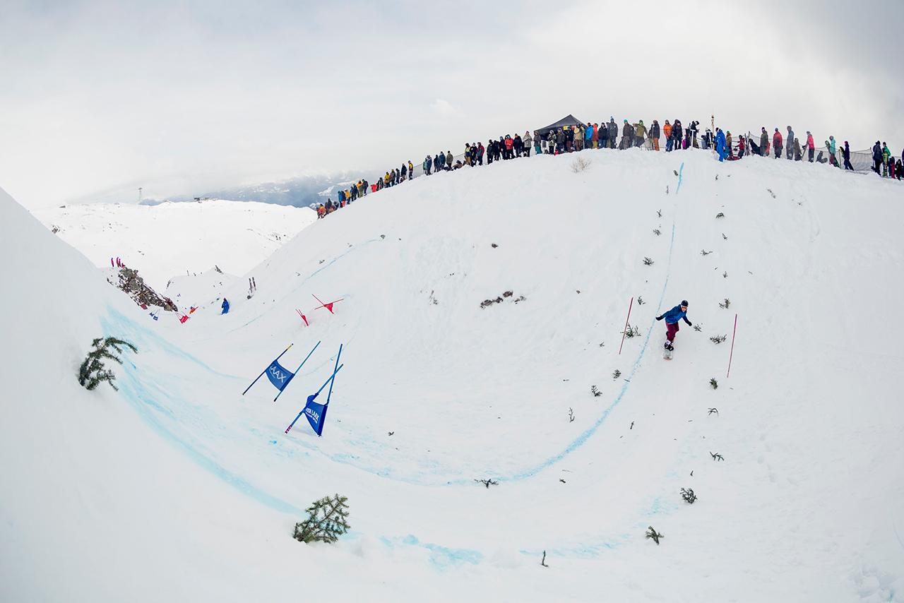 Banked Slaloms werden immer beliebter | © LAAX, Cyril Müller