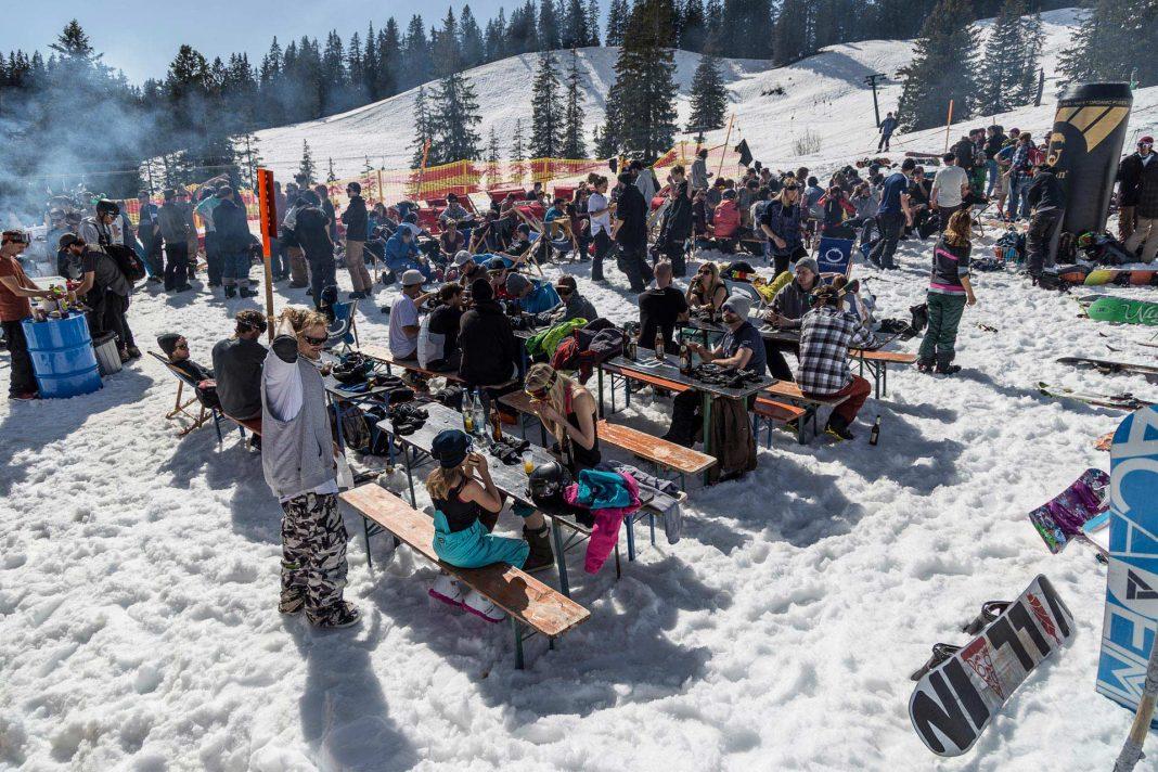 Videos und Fotos vom Beers´N´Burger #21 im Snowpark Grasgehren - Foto: Anton Ruslak