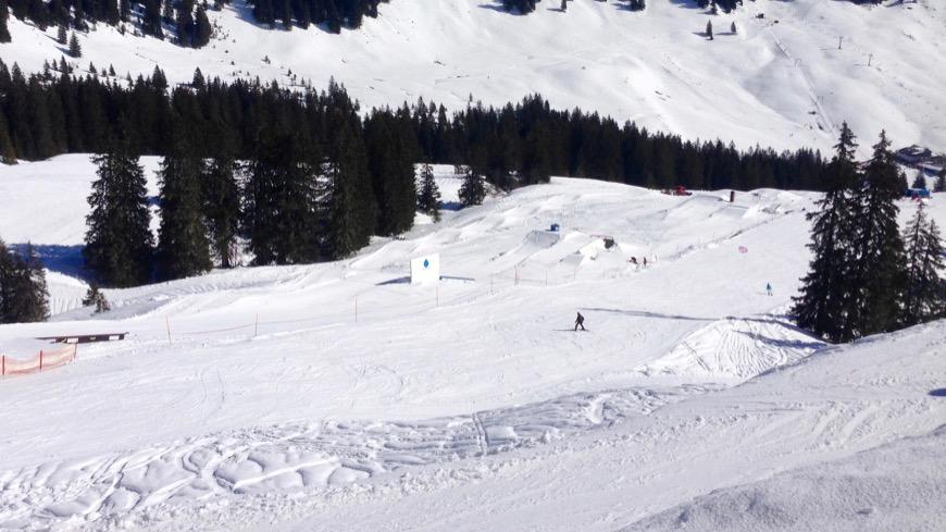 Snowpark Grasgehren - Overview
