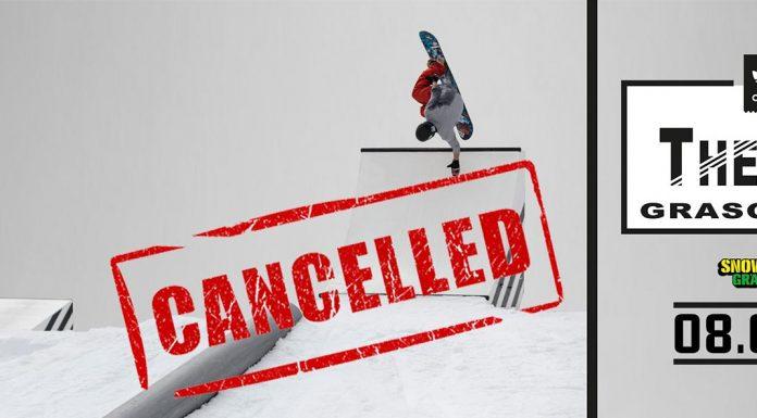 """Das """"The Run"""" Event am 8. April im Snowpark Grasgehren musste leider abgesagt werden."""