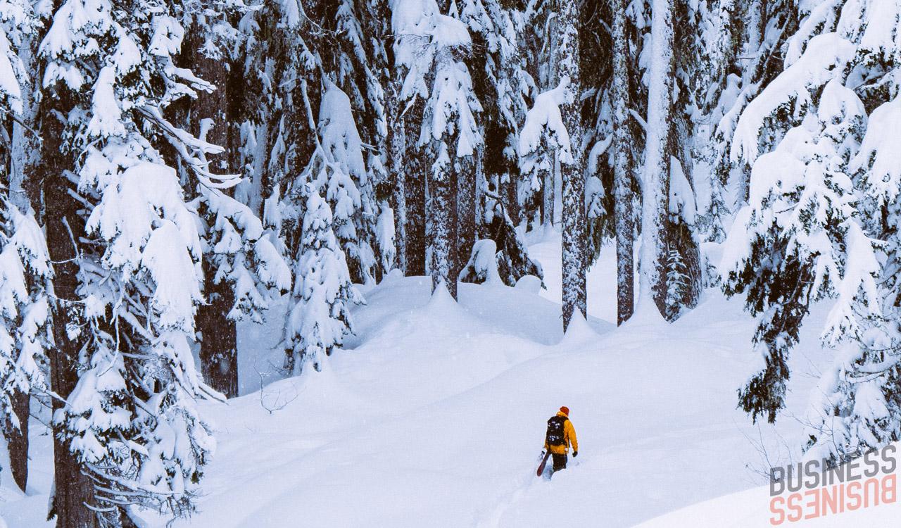 Ohne Verpflichtungen seinen Sponsoren gegenüber, kann Jussi heute jeden Tag in den Bergen ganz anders genießen | © Mizu
