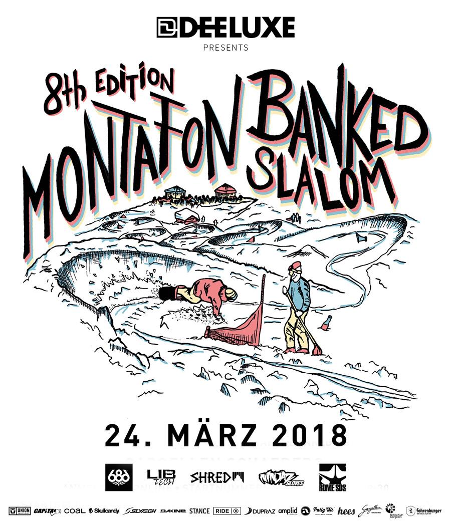 Schon zum achten Mal findet der Montafon Banked Slalom statt