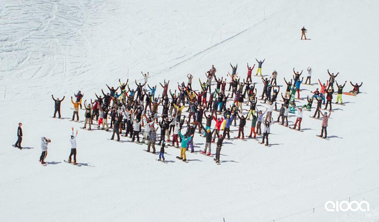 Kennt jeder, weiß jeder: Zusammen snowboarden gehen ist einfach das Geilste | © elooa