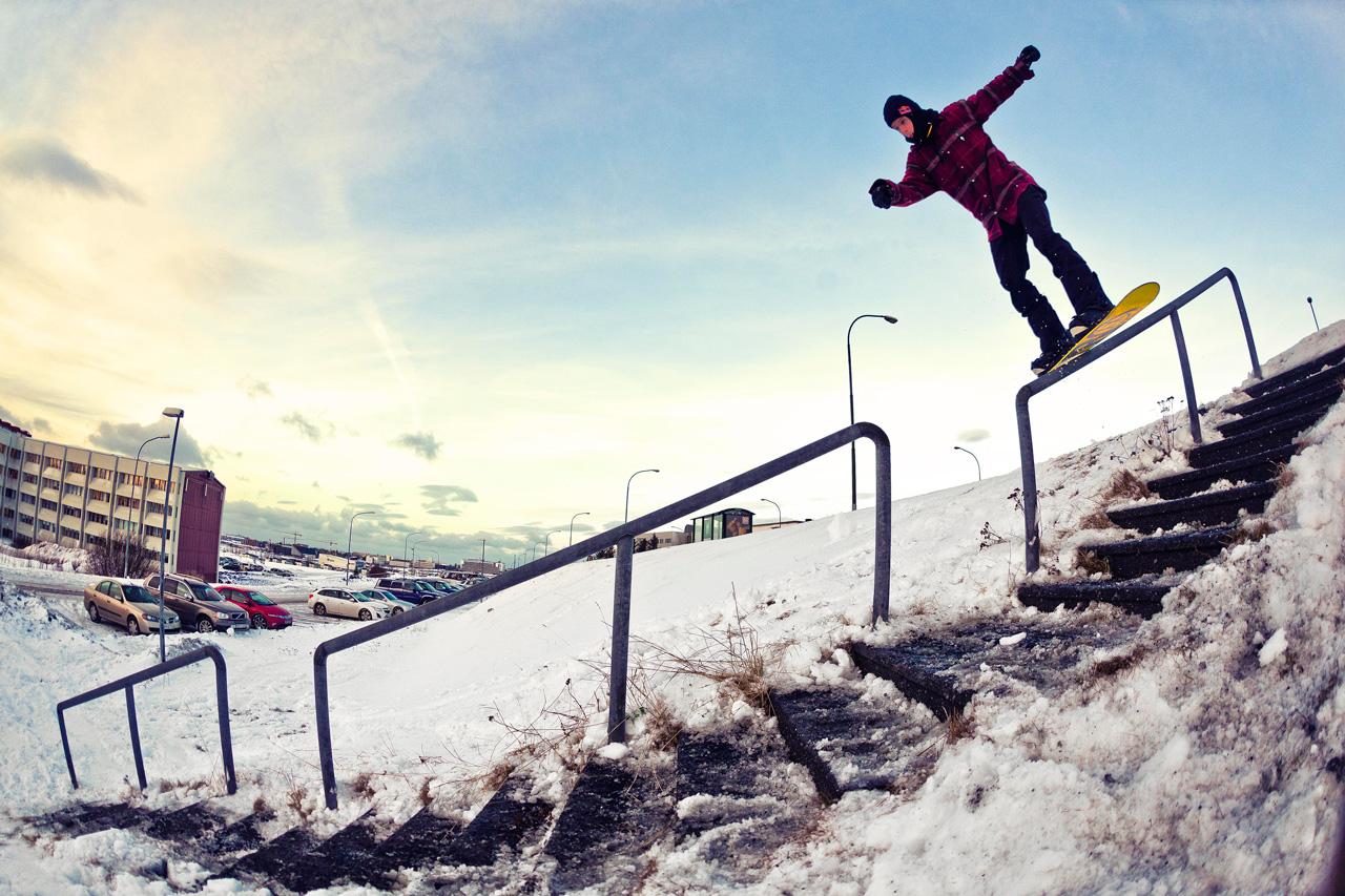 2014 hat sich Benny nach Island aufgemacht, um auch dort die Rails näher zu untersuchen | © Red Bull/Tim Schiphorst