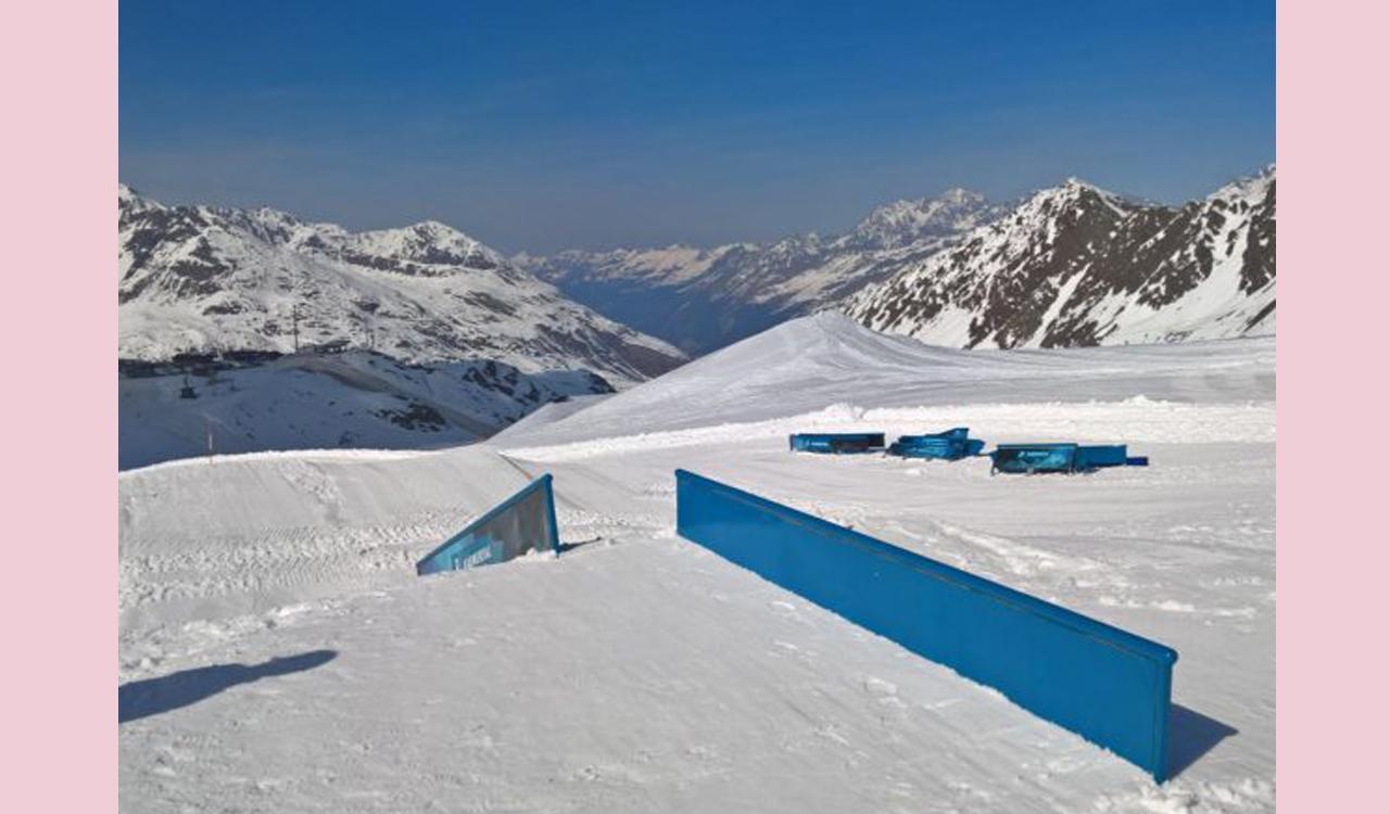 Sneak-Preview aufs Setup | © snowpark-kaunertal.tirol