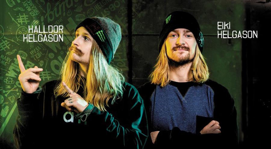 Zwei Isländer, die Snowboarden verändert haben