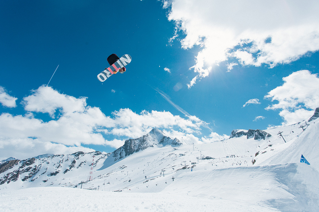 Einiges los am Kitzsteinhorn! | © Snowpark Kitzsteinhorn