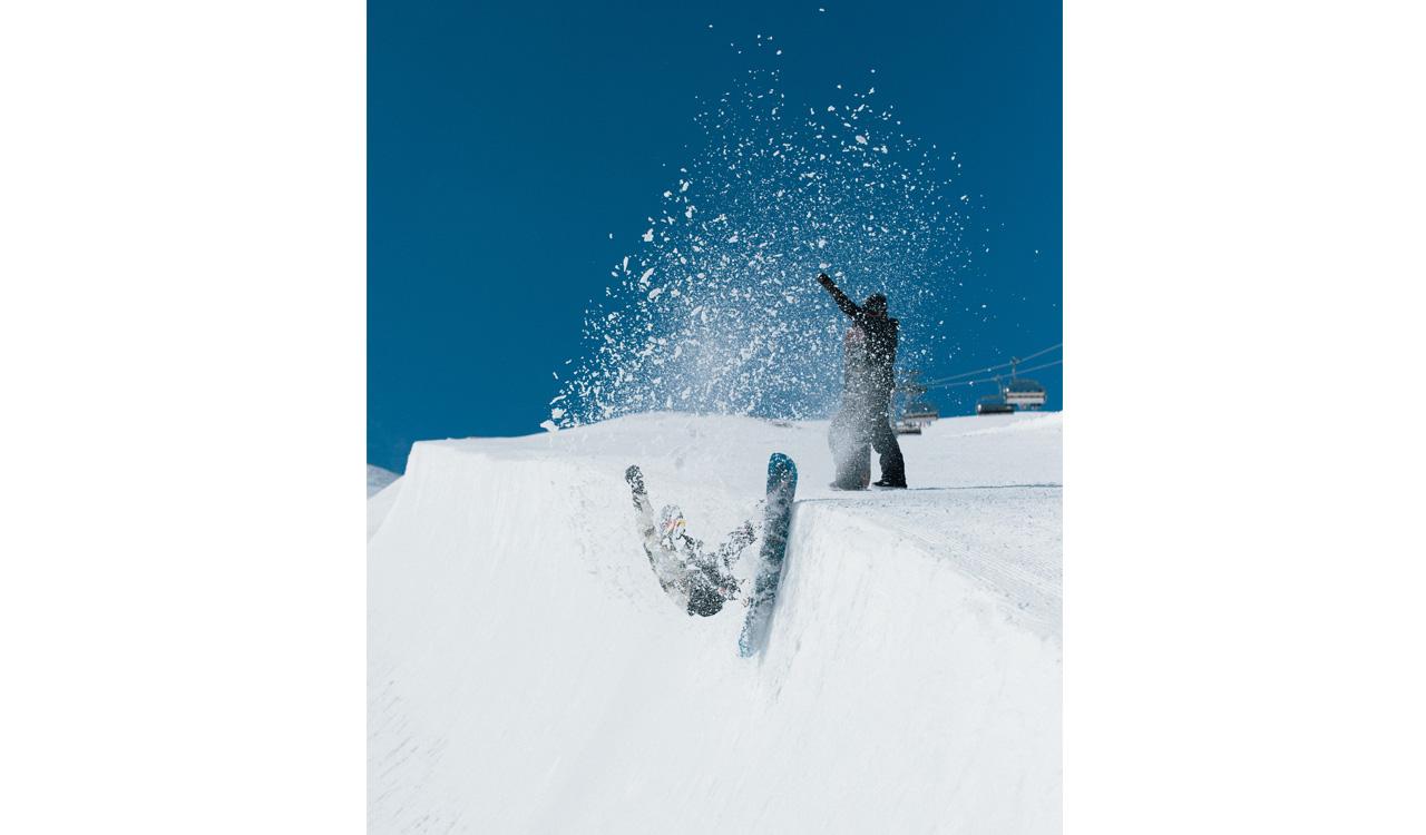 Slushy Pipe - good Pipe! | © Snowpark Kitzsteinhorn