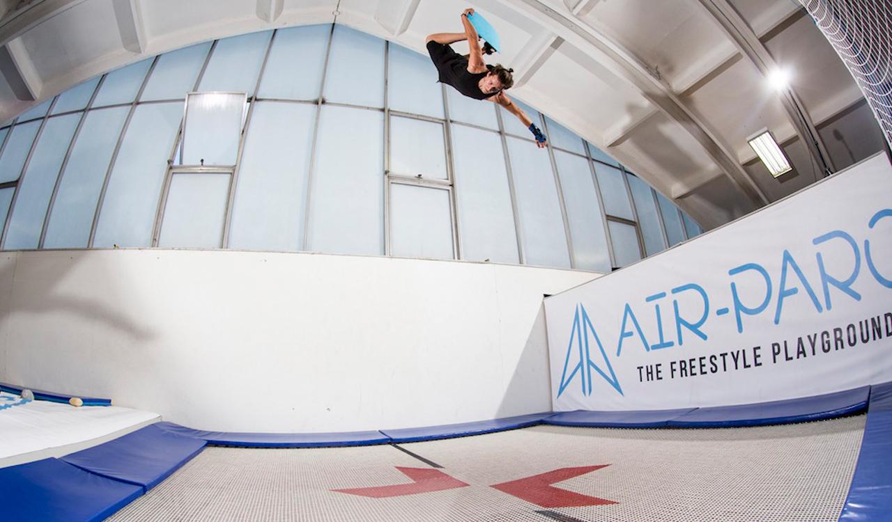 Auf den beiden Supertramps lassen sich Tricks perfekt trainieren, bevor ihr sie in den Schnee mitnehmt | © Air-Parc