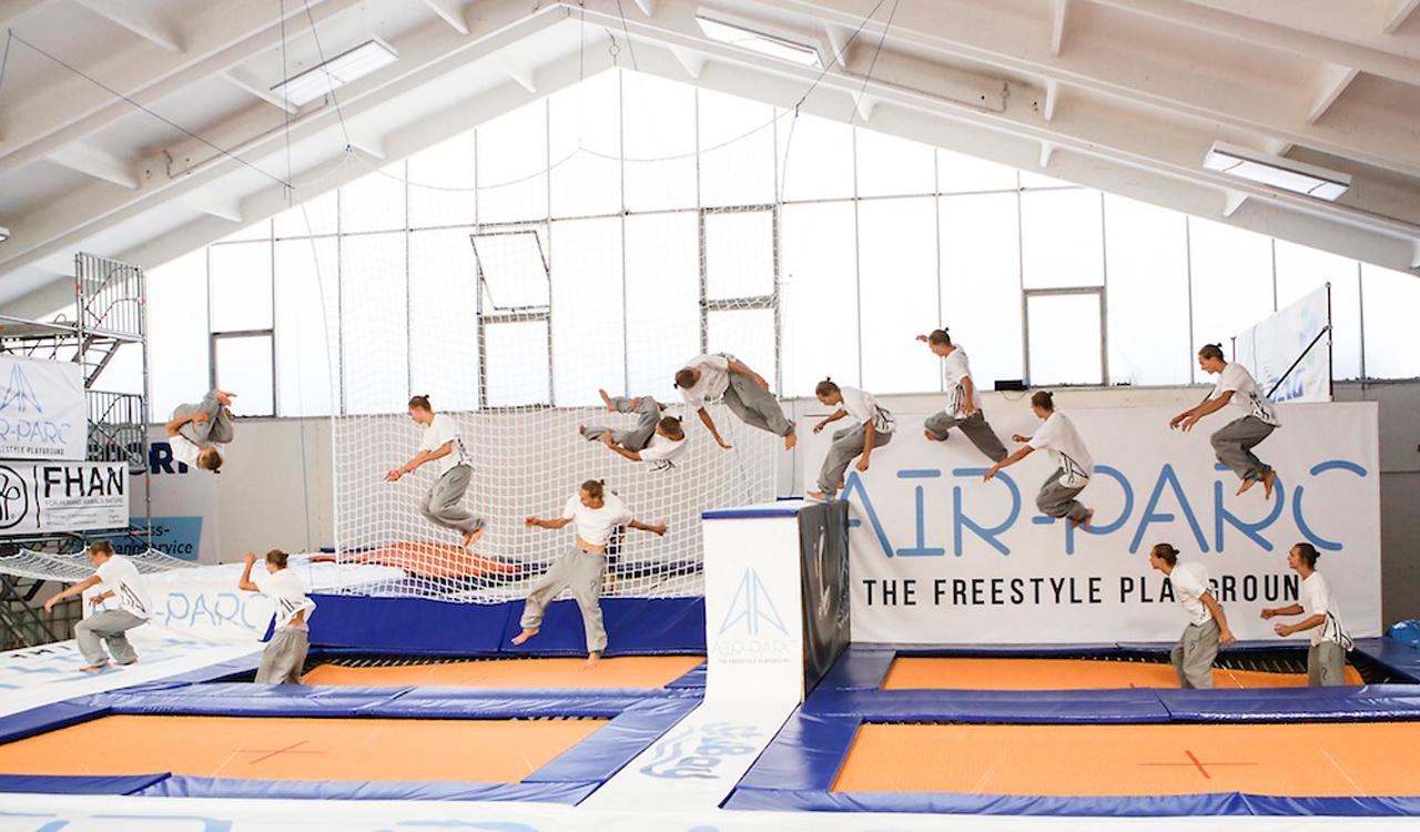 Schon mal Freerunning ausprobiert? | © Air-Parc