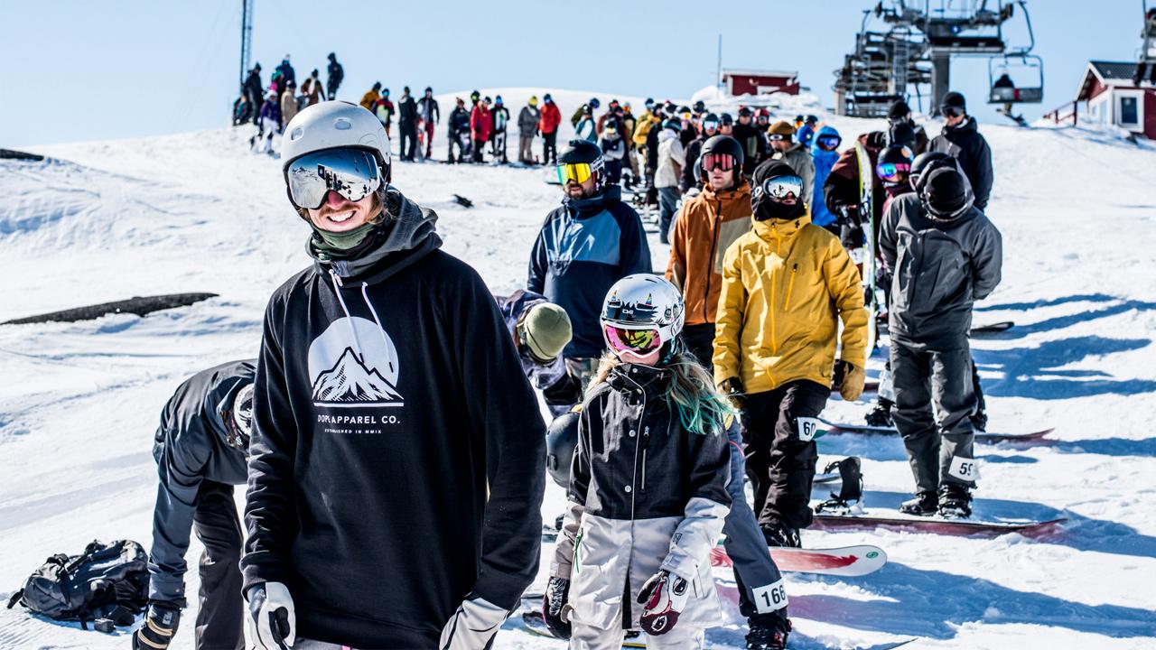 Fünf Jahre, und der Riks Banked Slalom wird immer beliebter | © Daniel Bernstål
