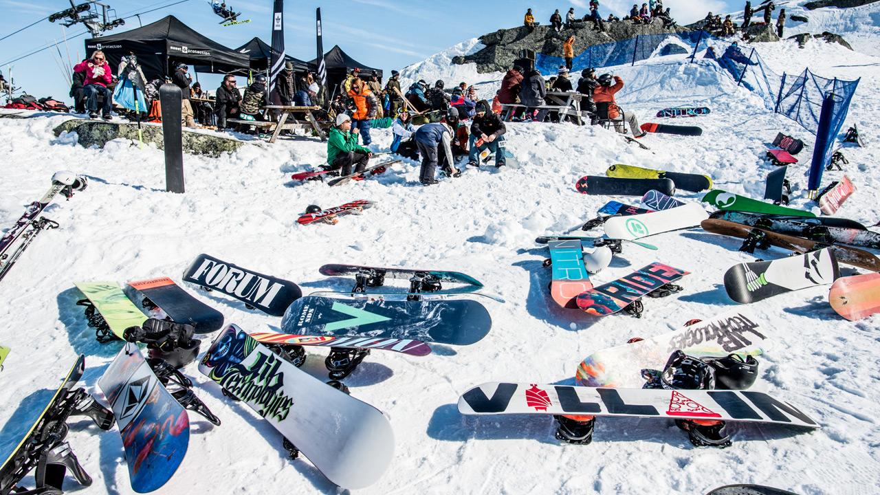 Genießt die angenehme Abwesenheit von Skiern… | © Daniel Bernstål
