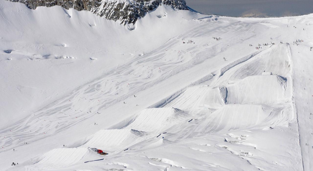 Beste Bedingungen fürs Opening! © Betterpark Hintertux