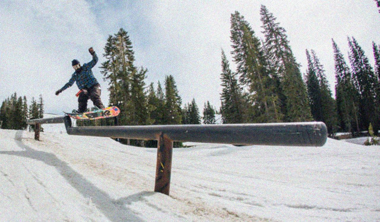 Jake am Boreal Mountain | © K2 Snowboarding