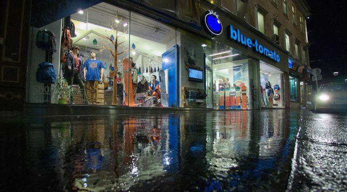 Die Fassade des Blue-Tomato-Shops in Graz | © Blue Tomato