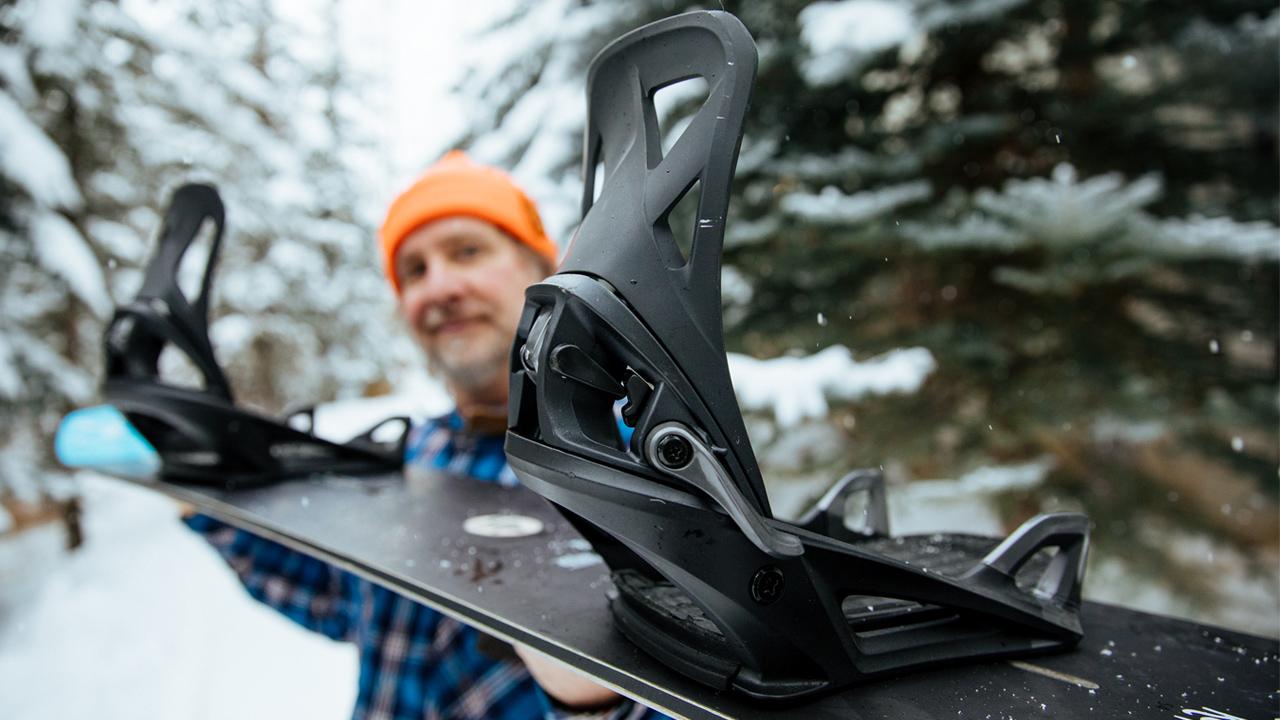 Der neueste Streich in Sachen Boot- und Bindungs-Technologie | © Transworld Snowboarding/Gabe L'Heureux