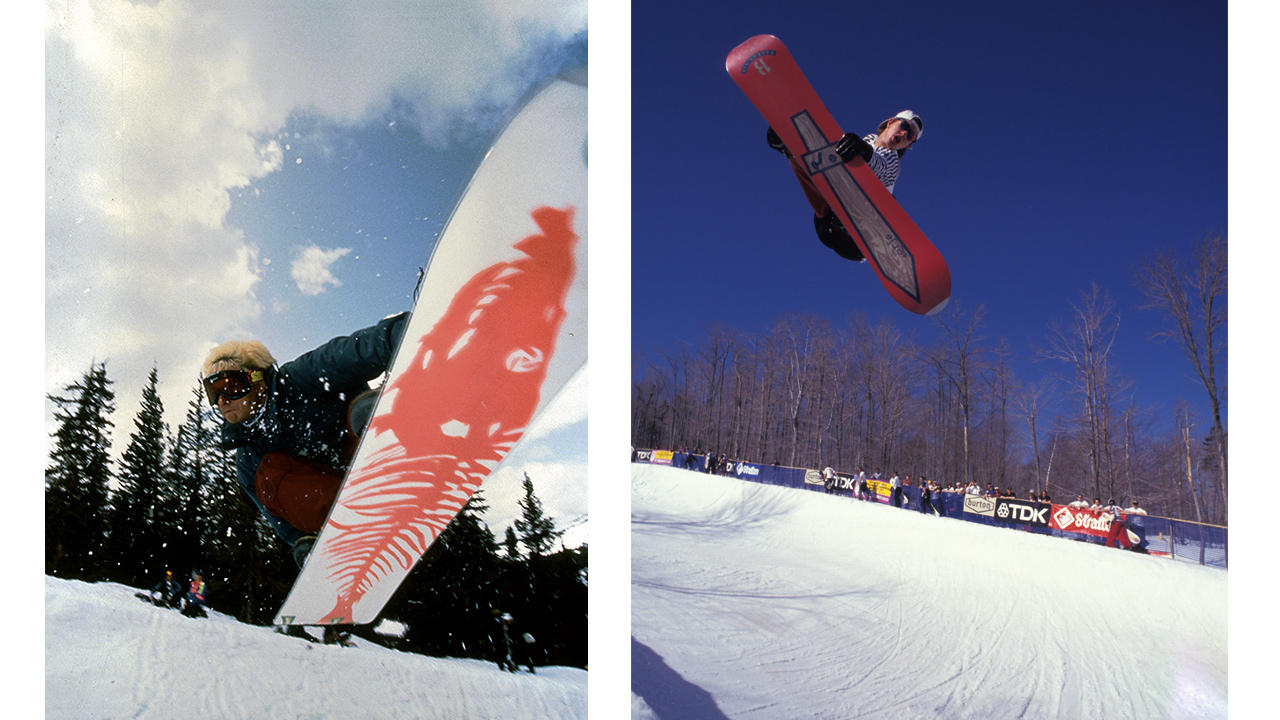 Jeff Brushie & Terje Haakonsen haben Snowboarden mit seinem Style und seinem Charakter nachhaltig geprägt. Und auch ihre Pro-Models sind bis heute legendär | © Burton