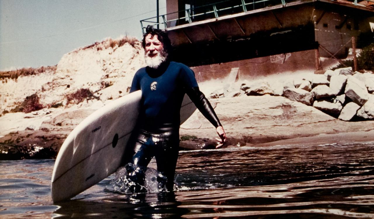Bis zu seinem Tod war Jack am liebsten im und am Wasser unterwegs | © O'Neill