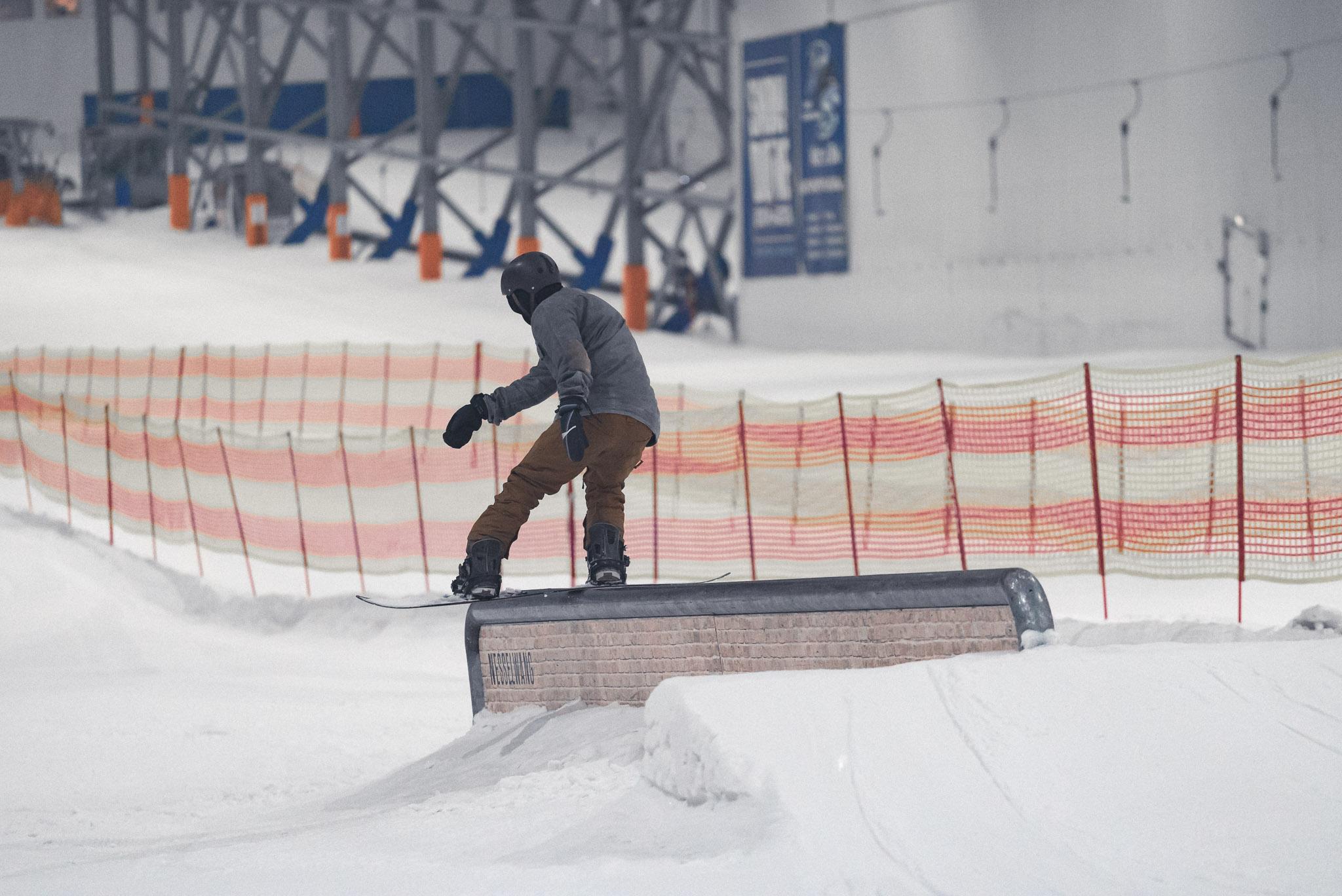 Durch die neue Kooperation mit dem Snowpark Nesselwang konnte das Setup des Snowpark Bispingen deutlich ausgebaut werden.