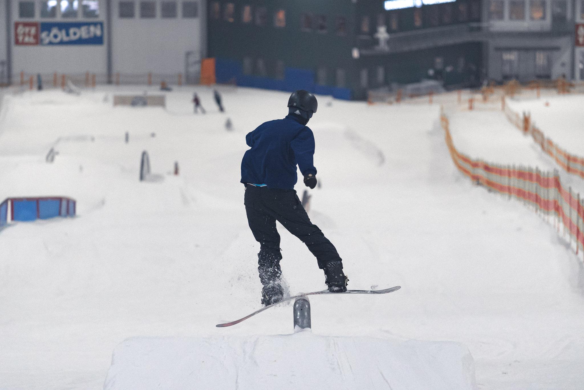 Das Motto im Snowpark Bispingen lautet: Rails, Rails, Rails!
