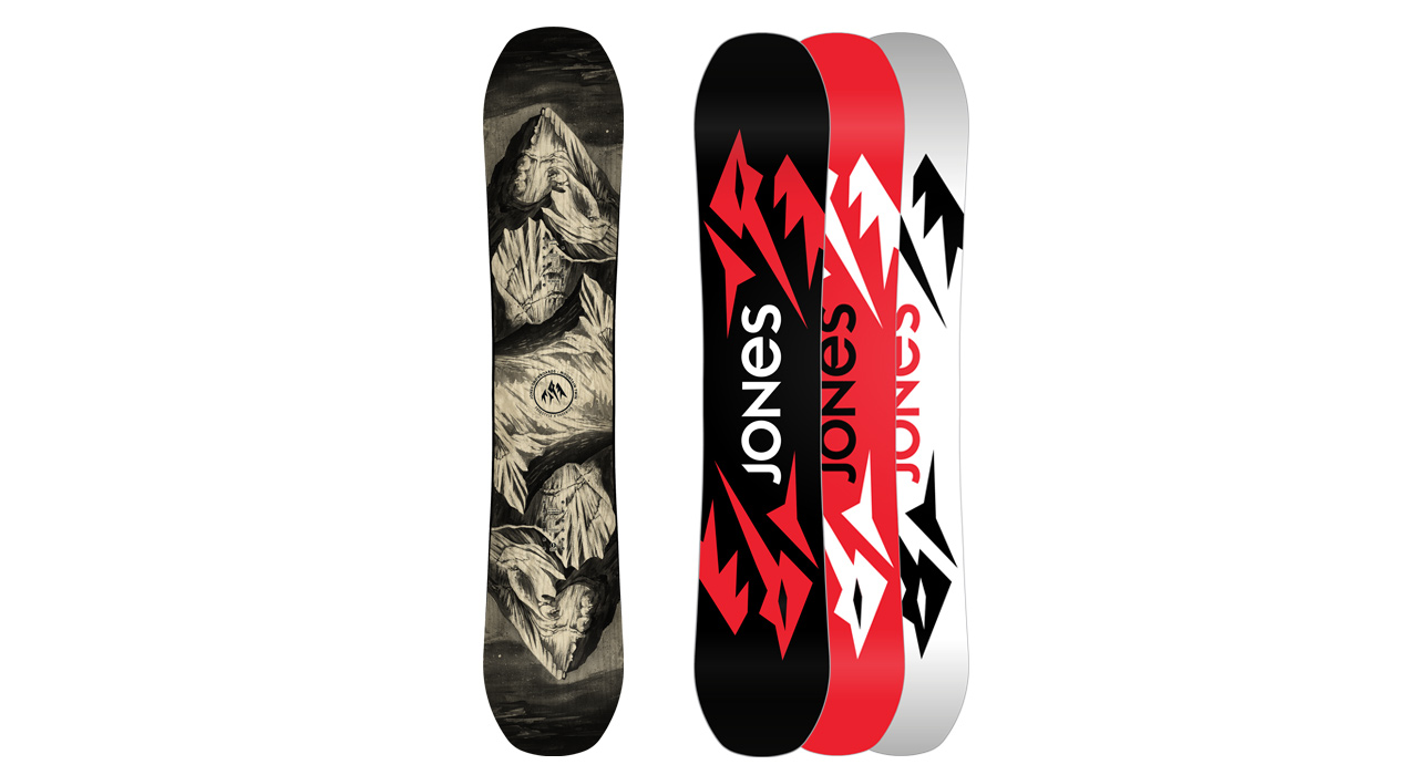 Ultra Mountain Twin von Jones Snowboards