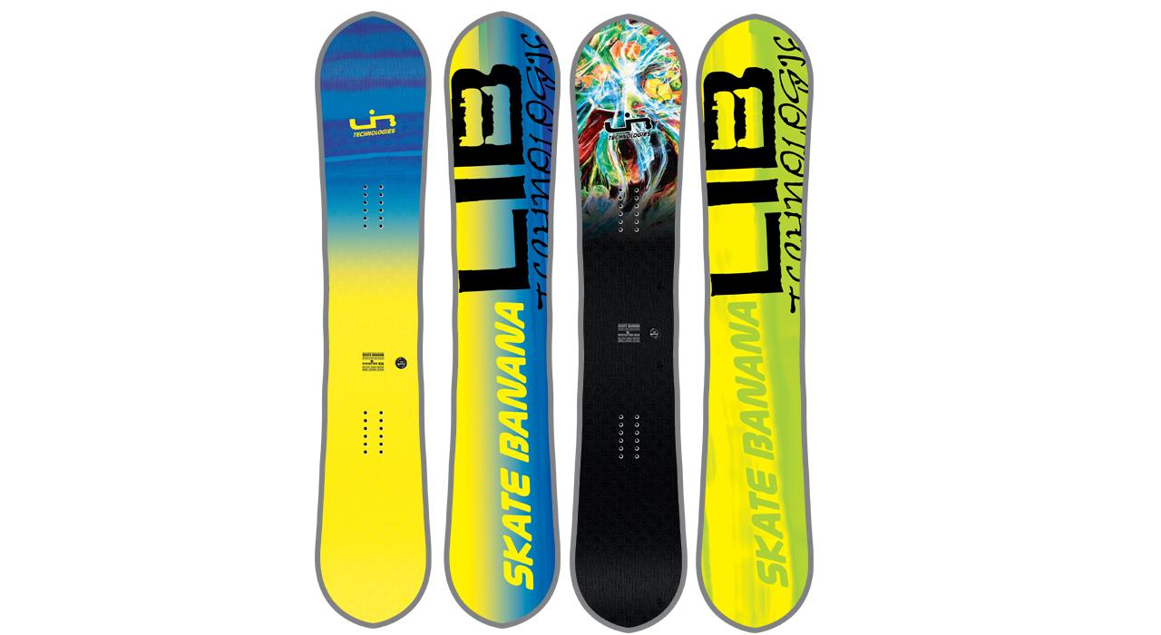 Skate Banana OP; links: Blue, rechts: Parillo
