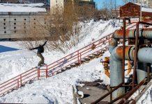 Louif unterwegs in Kamtschatka   © Oli Gagnon