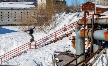 Louif unterwegs in Kamtschatka | © Oli Gagnon
