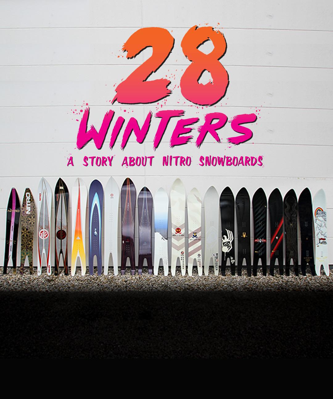 Nitro 28 Winters - Top 10 Snowboard Movies