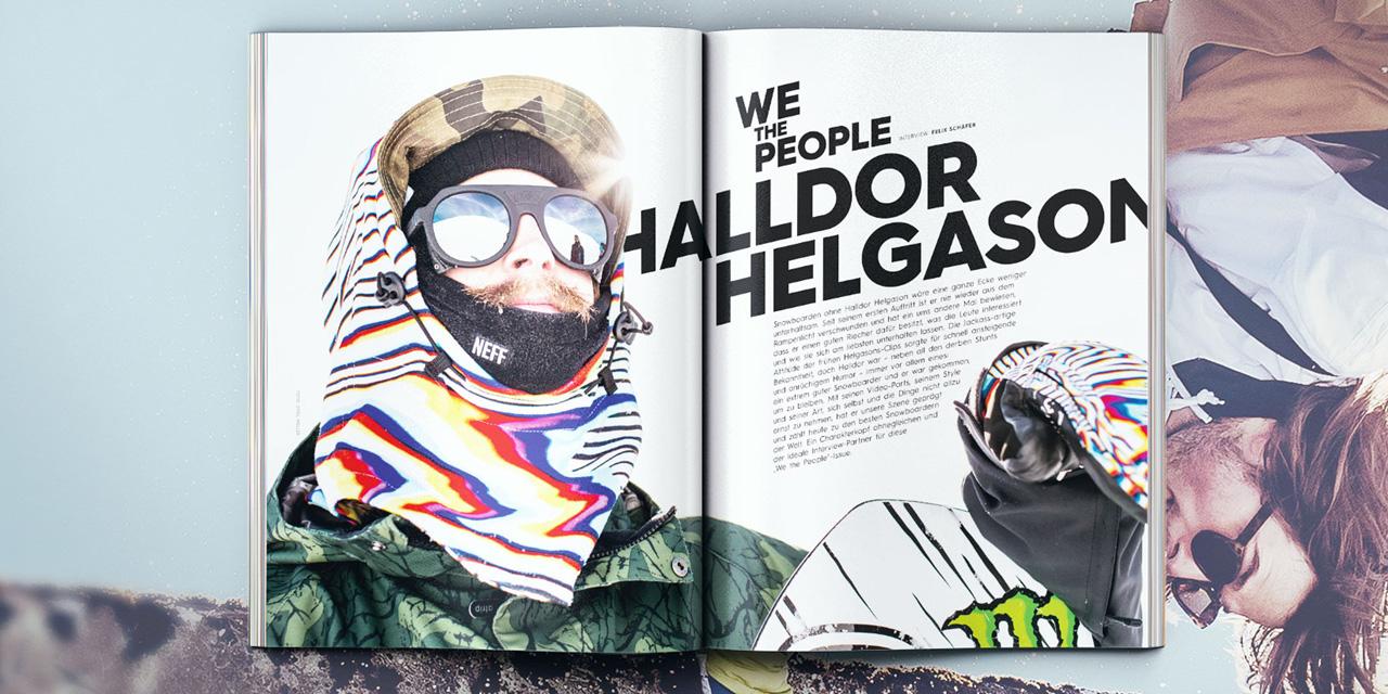 Halldor Helgason im Interview