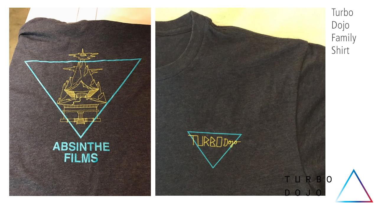 Turbo Dojo Family-Shirt - Absinthe Films Crowdfunding