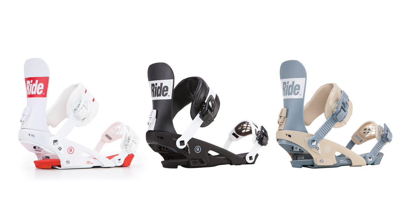 Rodeo von Ride Snowboards in White, Black & Grey
