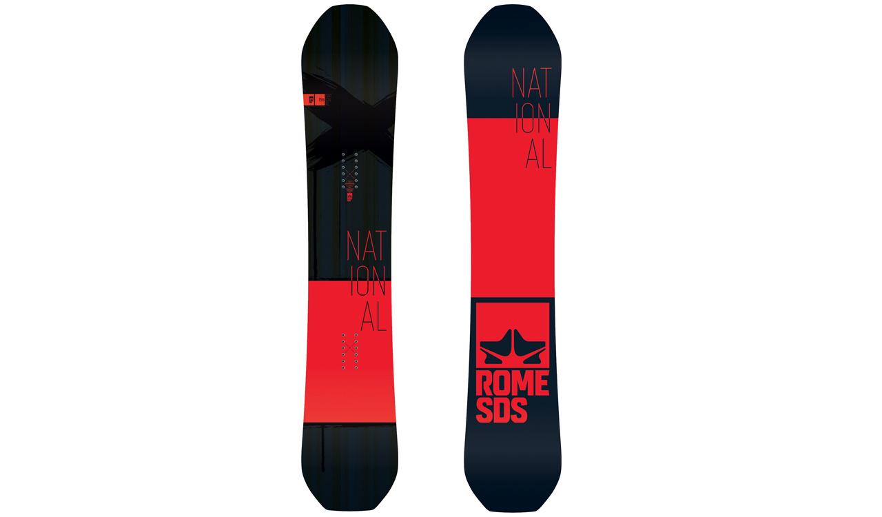 National von Rome Snowboards