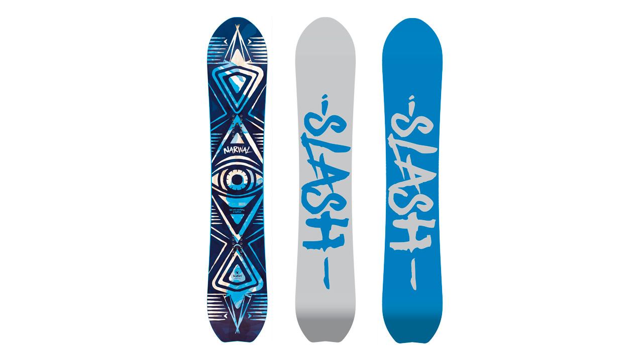 Narwal Straight von Slash Snowboards