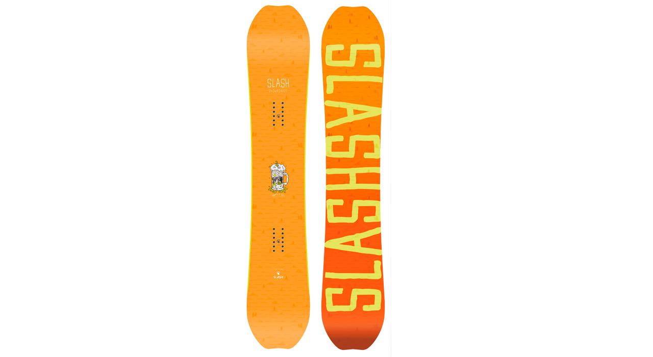 Happy Place von Slash Snowboards