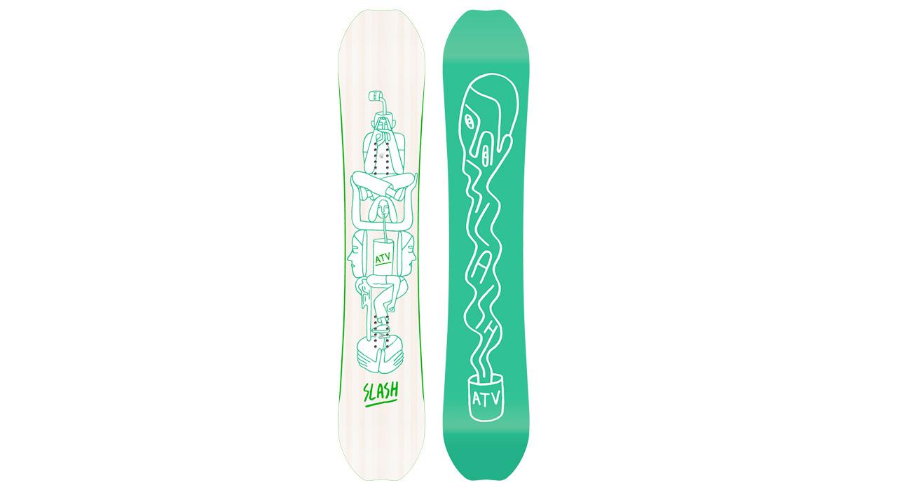Das neue ATV von Slash Snowboards