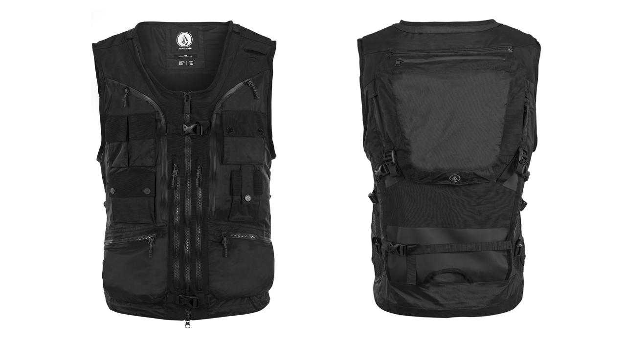 Die Iguchi Slack Vest von Volcom