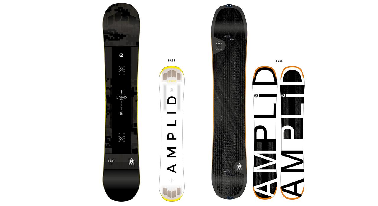 Das neue UNW8 und MILLIGRAM SPLIT von Amplid