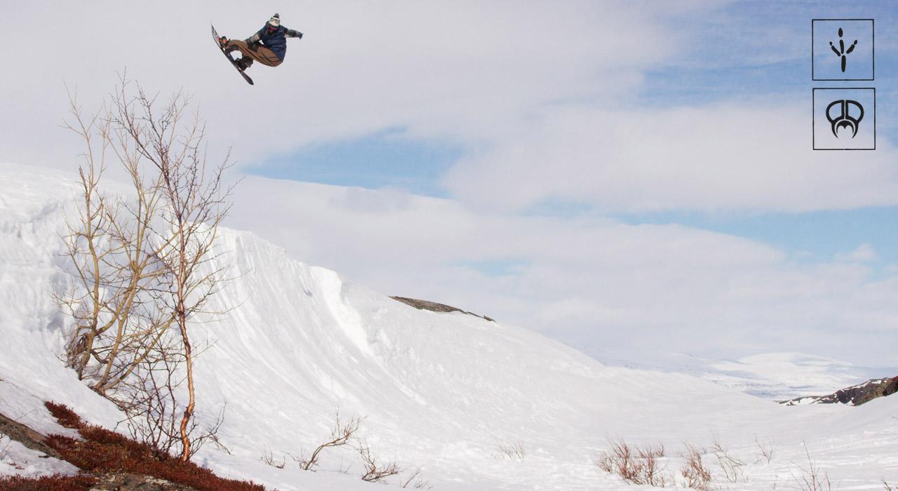 Es macht einfach verdammt viel Spaß, Gigi beim Snowboarden zuzuschauen | © PMP