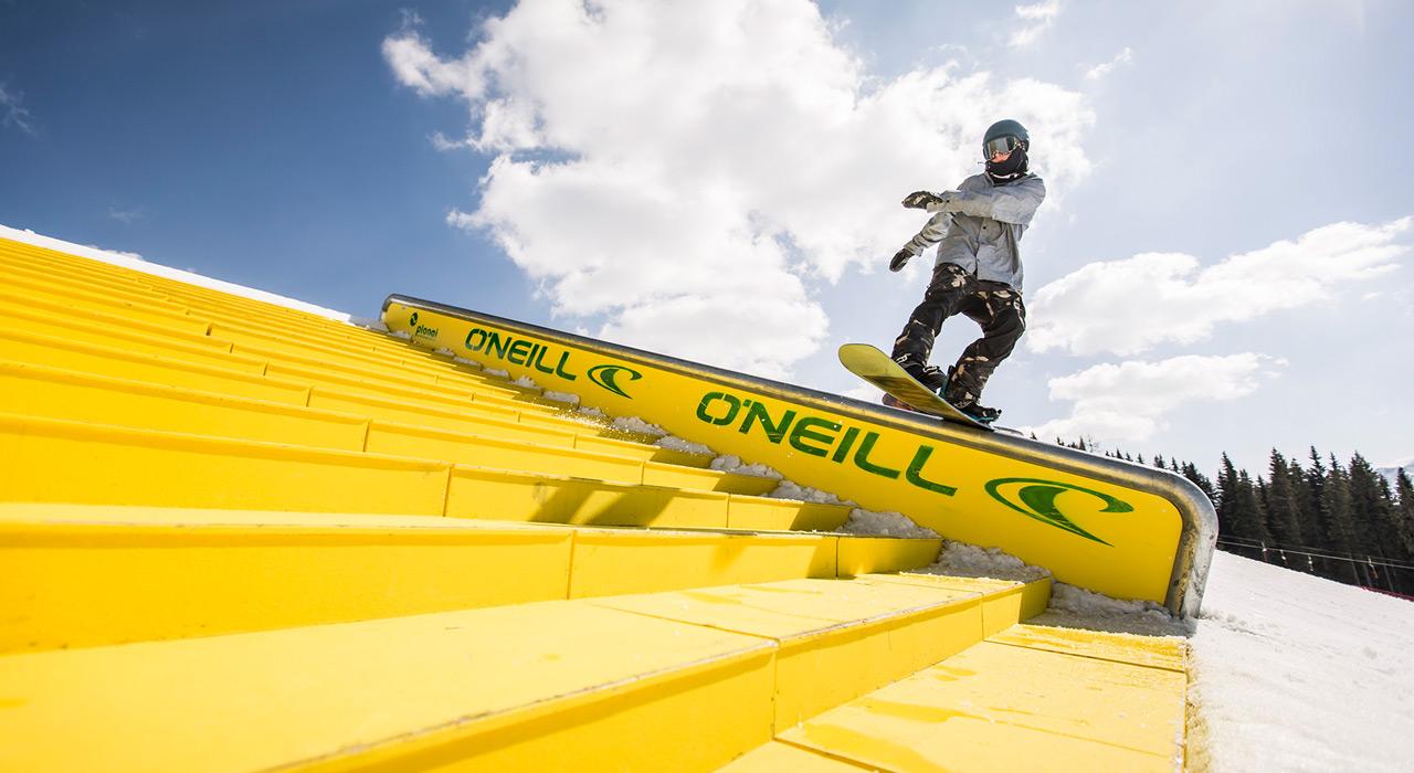 Auch Clemens Millauer hat schon öfter im Superpark Planai an seinen Skills gefeilt | © QParks/Roland Haschka