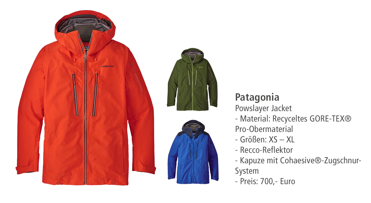 Patagonia: PowSlayer Jacket