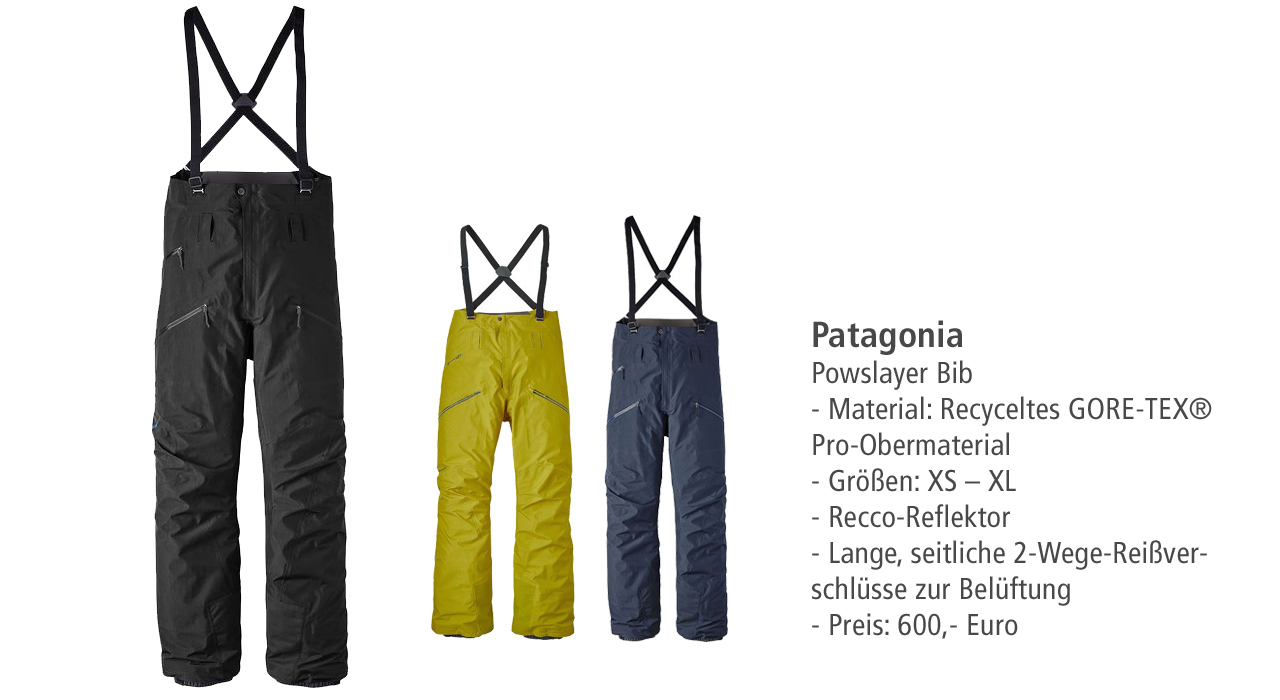 Patagonia: PowSlayer Bib
