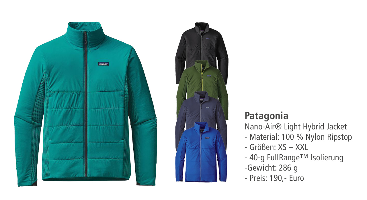 Patagonia: Nano-Air Light Hybrid Jacket